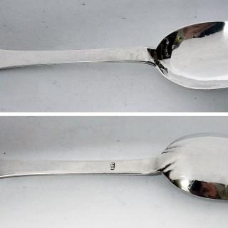 Antique Jersey Silver Trefid Spoon
