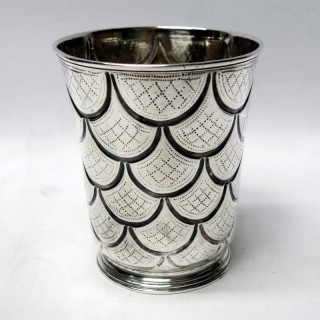 Georgian Irish Silver Beaker