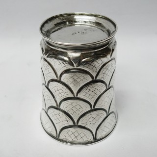 Georgian Irish Silver Beaker