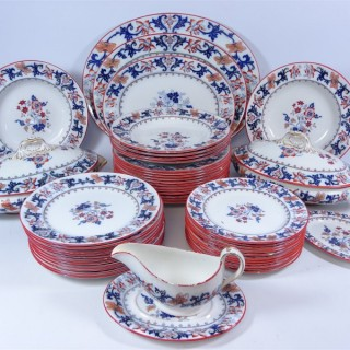"Late 19th. century Minton ""Merrion Japan"" Part Dinner Service"