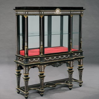 A Wonderful Pair of Display Cabinets Firmly Attributed to Jackson & Graham of London