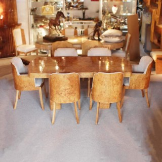 Art Deco Six Seater Dining Suite