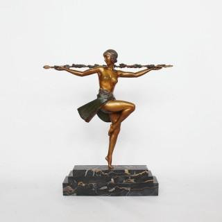 Pierre Le Faguays Dancer with Thyrsus