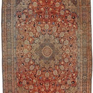 Antique Tabriz carpet 'Ardebil' design