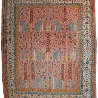 Antique Ushak carpet, Turkey