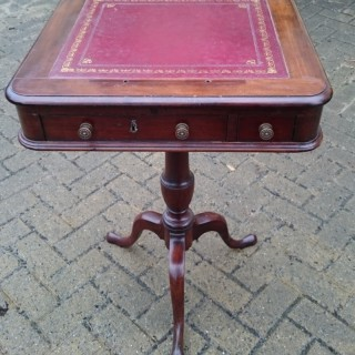 Early 19th Century Regency Mahogany Antique Reading Stand
