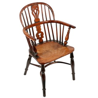 Lady's and Gent's Windsor Arm Chairs