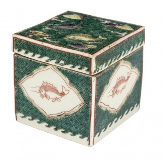 Kangxi Famille Verte Box