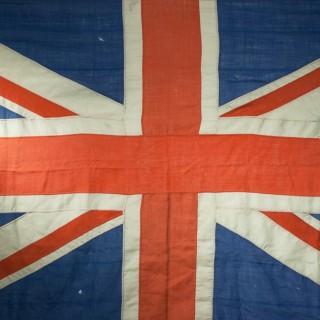 Victorian Union Jack Flag