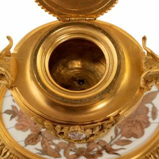 Napoleon III inkwell by Maison Giroux