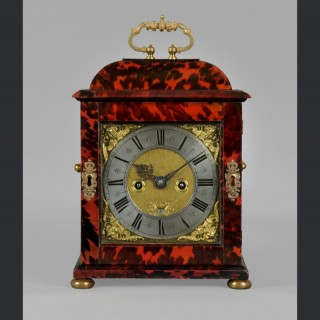A fine and small James II quarter repeating spring table clock by HUMFRY ADAMSON, London c1690
