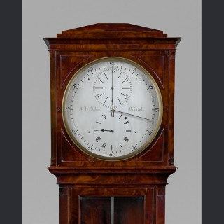 An exceptional regency longcase regulator by J.H. ALLIS, Bristol / London c1820