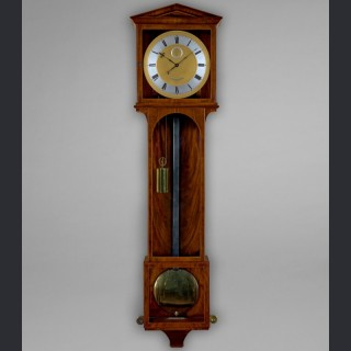 An important Biedermeier period month duration regulator by ANTON POHL, c1835