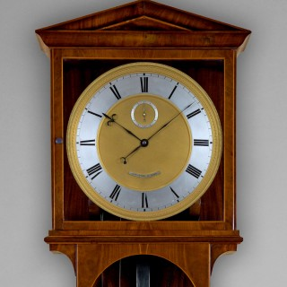An important Biedermeier period month duration regulator by ANTON POHL, c1835
