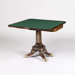 A Pair of Regency Card Tables