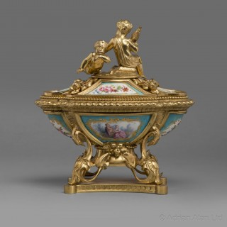 A Fine Louis XV Style Inkwell