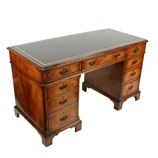 Georgian Style Walnut Desk