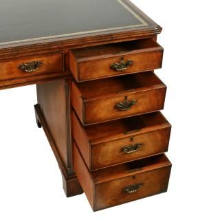 Georgian Style Walnut Desk