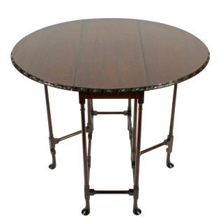 Spider' Base Drop Leaf Table