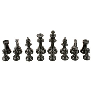 Carved Wood Chess Set