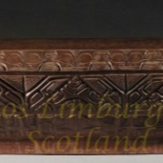 MARQUESAS islands, Signed Carved Wooden Bowl