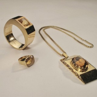 Historical Interesting 3 Pieces of Jewellery of the Actress Anny Ondra