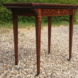 Early 20th Century Antique Card Table