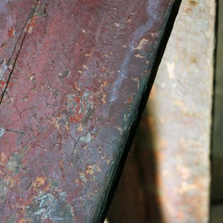 An Early 19thC Continental Painted Pine Bench c.1830-40
