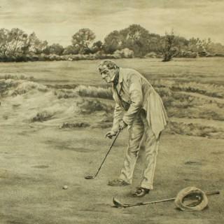 The Stymie Golf Print