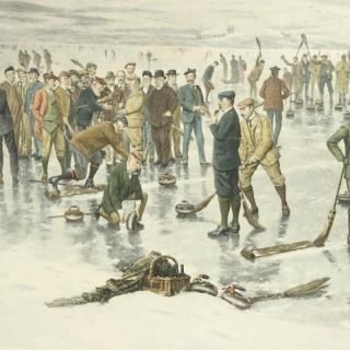 Royal Caledonian Curling Club Print