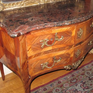 German French Rosewood Chest of Drawers circa 1770