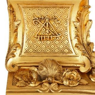 Napoleon III period mantel clock by Barbedienne
