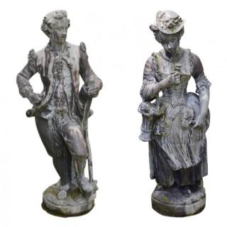 Lead Garden Figures