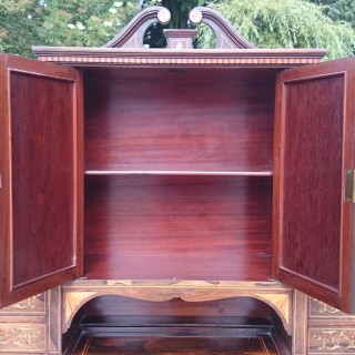 Early 20th Century Rosewood Secretaire Desk