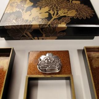 Japanese Meiji Lacquer Suzuribako