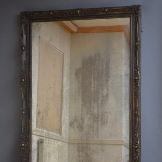 Large Late XIXth Century Full Length Mirror