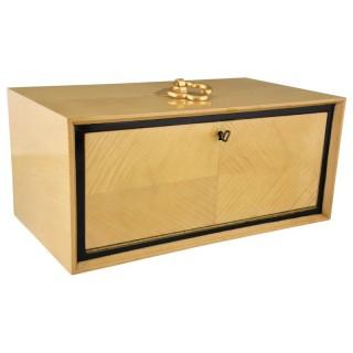 Art Deco jewelry box with 3 drawers