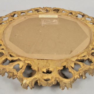 Carved Wooden Gilded Picture Mirror Frame
