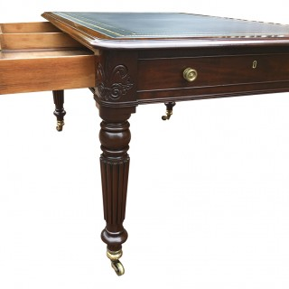 Antique Regency Mahogany Writing Table or Desk