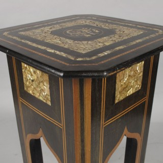 An original and very decorative Islamic table.