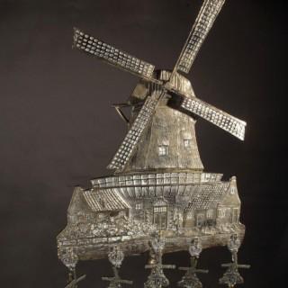 Dutch Brass Companion Set