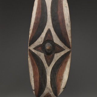 Ceremonial dance shield