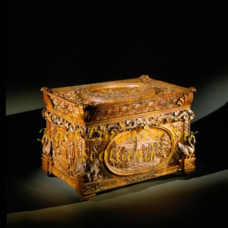 A magnificent and historical very important  Royal wedding casket, royal provenance