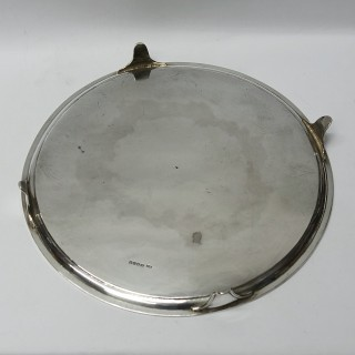 George III Silver Salver Made by HENRY CHAWNER, LONDON 1789.
