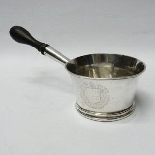 George I Silver Brandy Pan