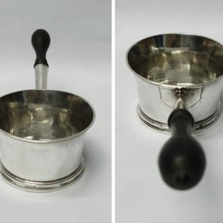 George I Silver Brandy Pan