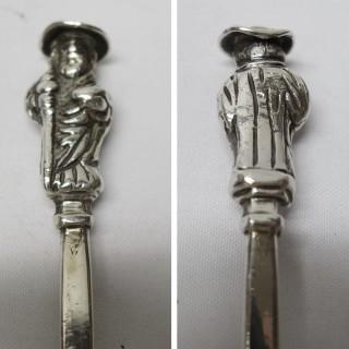 Antique Silver Apostle Spoon