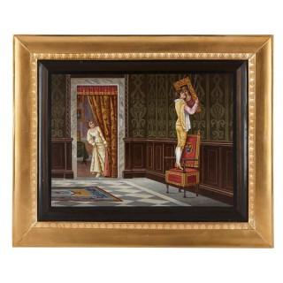 19th Century Italian micromosaic panel