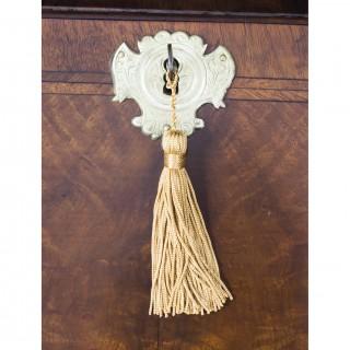 Antique English William & Mary Walnut & Feather Banded Bureau 17th C