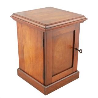 Miniature Mahogany Collector's Cabinet